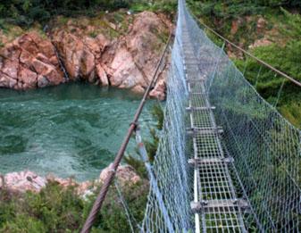 Swinging Bridge Clarendon